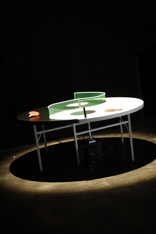 installation de Nicolas Fenouillat