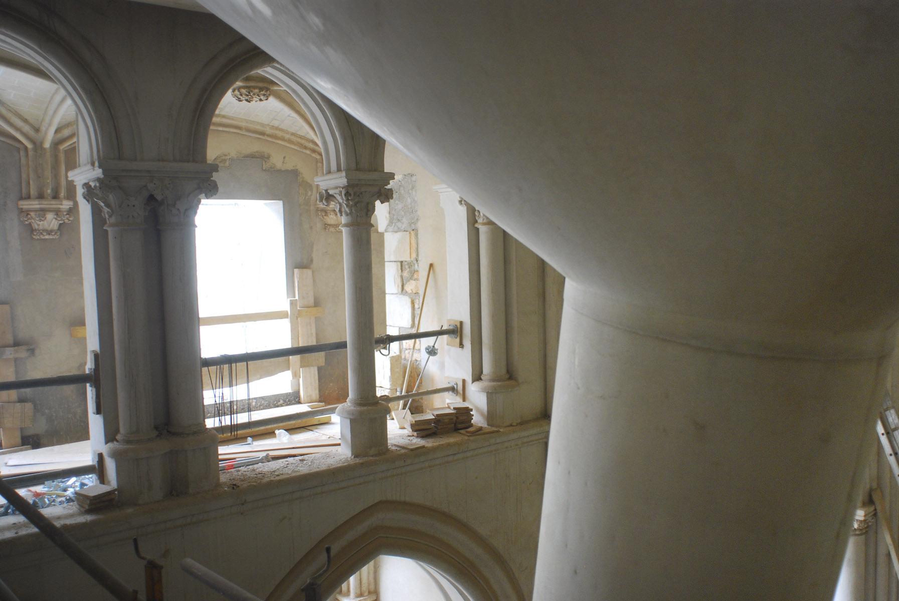 voûte et colonne