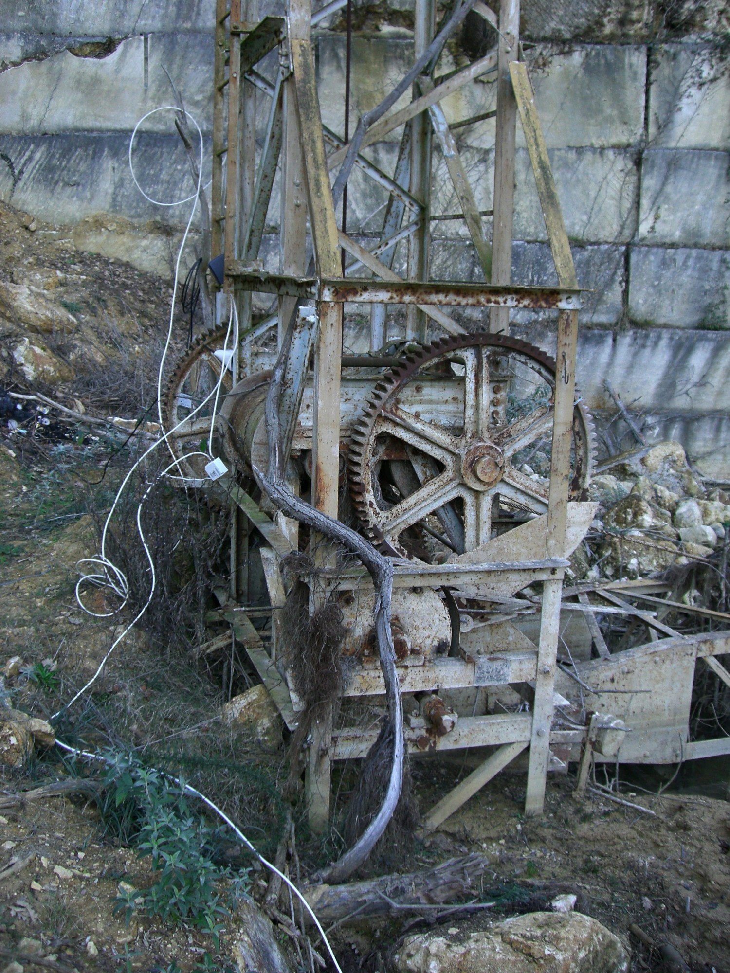les anciennes machines