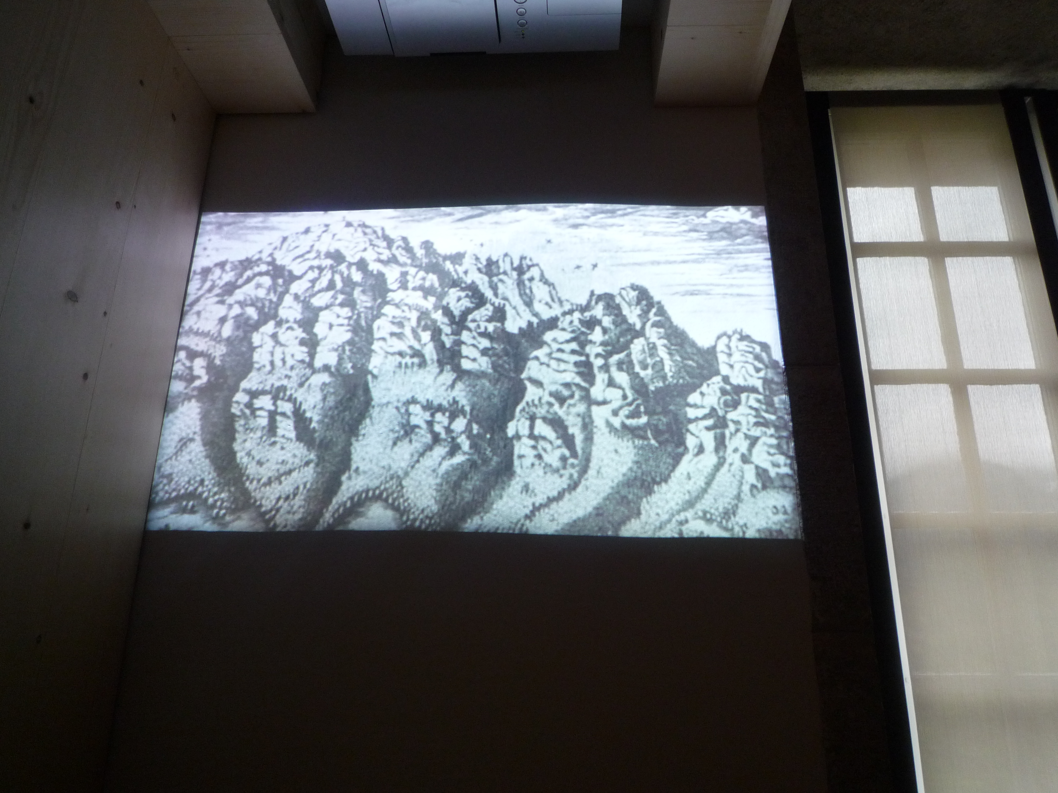 projection vidéo