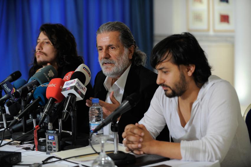 Concert à Beyrout - Liban - décembre 2011